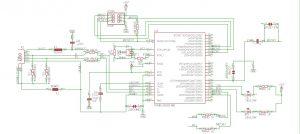 ATmega2560 schematic